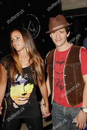 Clifton Collins Jr and Megan Ozurovich