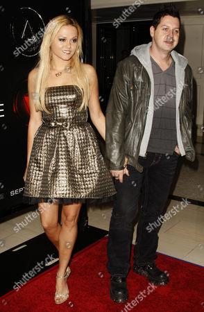 Stock Image of Rob Hall and Angelina Armani