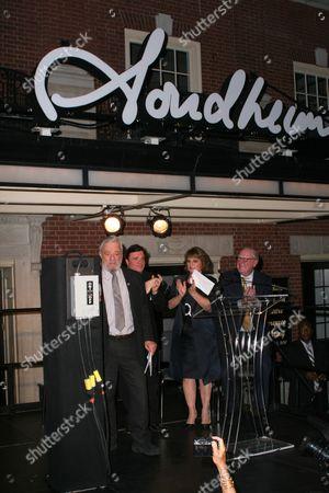 Editorial photo of Stephen Sondheim Theatre dedication and marquee lighting ceremony, New York, America - 15 Sep 2010