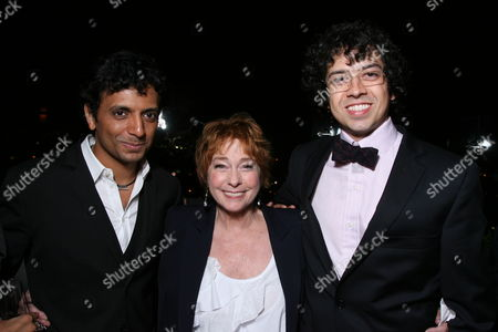 Stock Picture of M Night Shyamalan, Jenny O' Hara and Geoffrey Arend