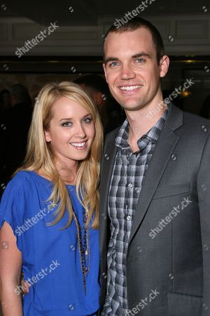Megan Park and Tyler Hilton