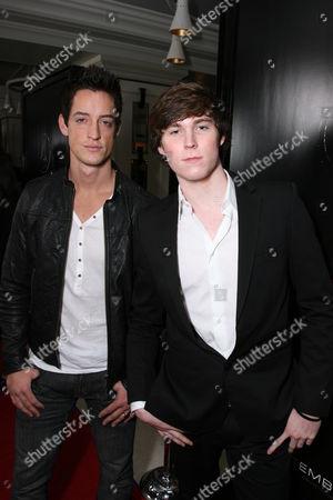 Justin Price and Rodney Edwards