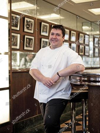 Editorial image of Richard Kirkwood at J Sheekeys Restaurant, London, Britain - 18 Aug 2010