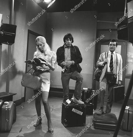 Editorial photo of 'Spyder's Web' TV Series. - 1972