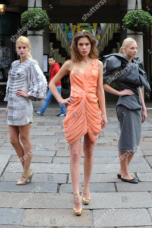Models, Sophie Holmes, Kasey and Daria Zhemkova