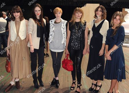 Stock Picture of Diane Birch, Coco Rocha, Lissy Trullie, Liela Moss, Alexa Chung and Binki Shapiro