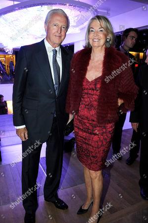 Galen Weston with wife Hilary Weston