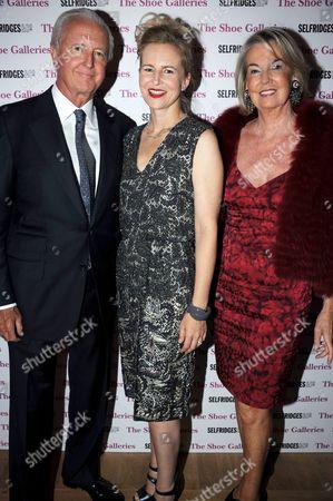 Galen Weston with wife Hilary Weston with Alannah Weston (c)