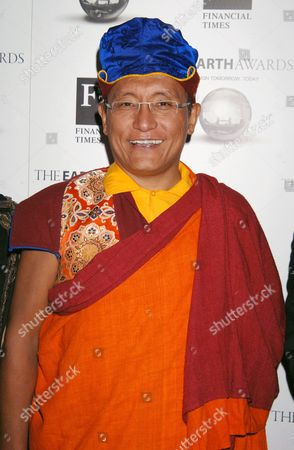 His Holiness the 12th Gyalwang Drukpa, a member of the selection committee