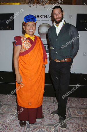 The Gyalwang Drukpa and David de Rothschild