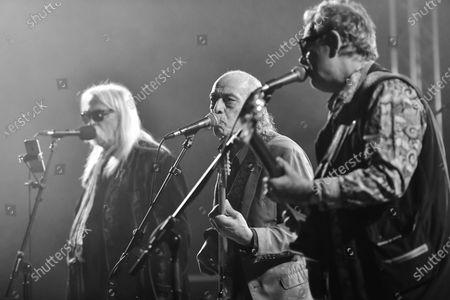 The Blockheads -  Derek 'The Draw' Hussey, Norman Watt-Roy and John Turnbull