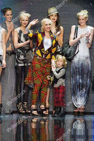 Gwen Stefani and son Kingston Rossdale