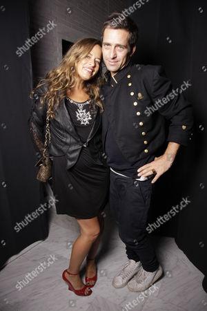 Jade Jagger and Dan Williams