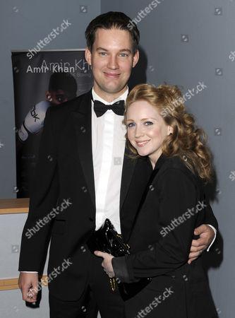 Julia Howarth and husband