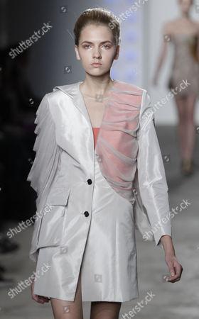 Editorial photo of Jade Kang collection at Fashion Fringe during London Fashion Week, London, Britain - 18 Sep 2010
