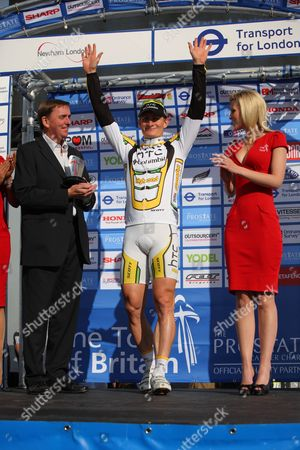 Editorial image of Tour of Britain cycle race Final Stage 8, Royal Albert Way, London, Britain  - 18 Sep 2010