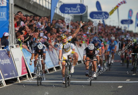 Stock Picture of Andrea Greipel wins final stage