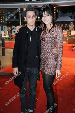 Louis Simonon with Daisy Lowe
