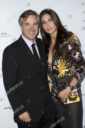 Olivier Lapidus and his wife