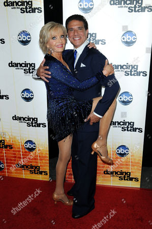 Stock Image of Florence Henderson and Corky Ballas
