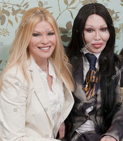 Cindy Jackson and Pete Burns