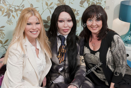 Cindy Jackson, Pete Burns and Coleen Nolan