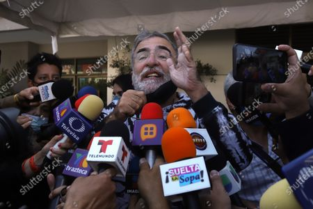 Editorial image of Vicente Fernandez responds well to treatment after fall, says his son, Guadalajara, Mexico - 12 Aug 2021