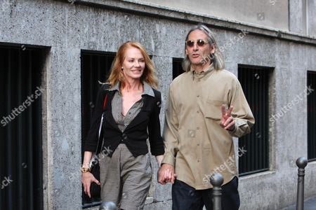 Stock Picture of Marg Helgenberger and husband Alan Rosenberg