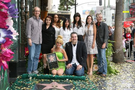 Editorial image of Tinker Bell Honored With Star On The Hollywood Walk Of Fame, Los Angeles, America - 21 Sep 2010