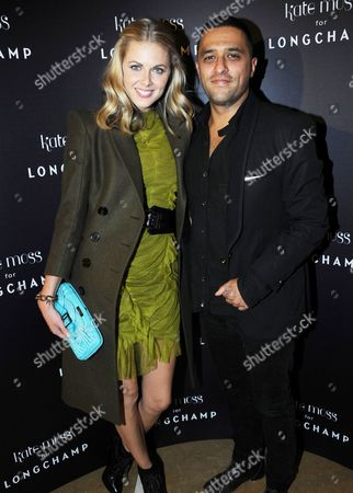 Editorial photo of Kate Moss for Longchamp Event, London, Britain - 21 Sep 2010