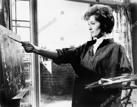 "Barbara Shelley, on-set of the British Film, ""Postman's Knock"", MGM, 1962"