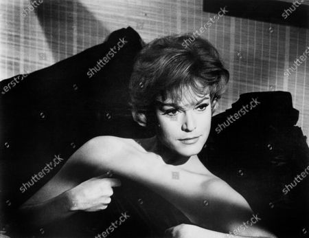 "Margit Saad, on-set of the Film, ""The Concrete Jungle"", UK: ""The Criminal"", Anglo-Amalgamated, Fanfare Films, 1960"