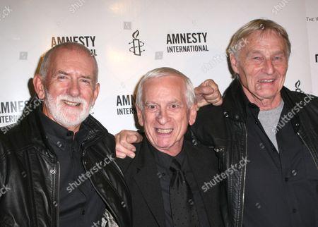 Stock Photo of Rod Davis, Colin Hanton, Len Garry