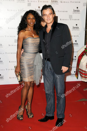 Stock Photo of Sinitta and Stefano Zagni