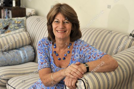 Editorial picture of Clare Latimer at home in north London, Britain - 03 Aug 2010