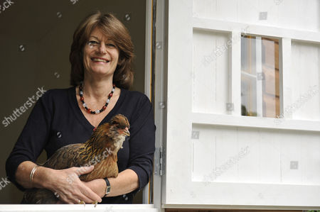 Editorial photo of Clare Latimer at home in north London, Britain - 03 Aug 2010