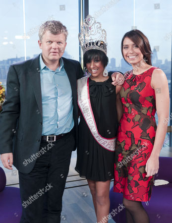 Adrian Chiles, Anysha Panesar and Christine Bleakley