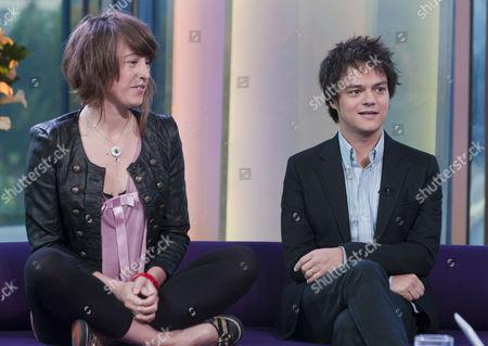 Emma Gillespie and Jamie Cullum