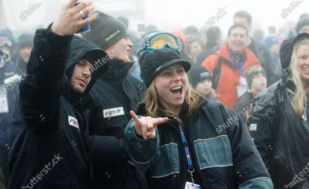 Editorial photo of Suzie Mcneil Performs at Fis Freestyle World Cup, Vancouver, Bc - 10 Feb 2008