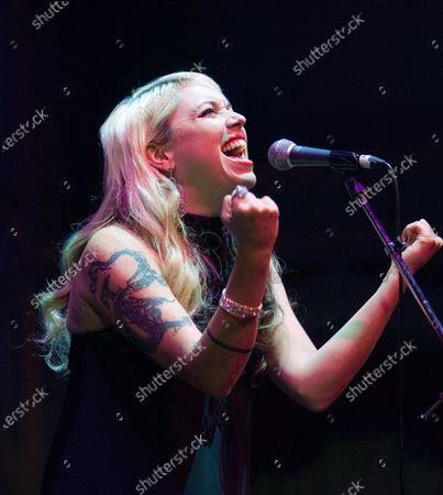 Suzie McNeil sings at the Orpheum Theater during the two year countdown concert of the Vancouver Cultural Olympiad on February 12, 2008 in Vancouver, British Columbia.