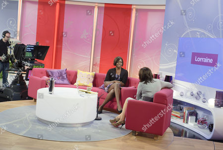 Editorial picture of 'Lorraine Live' TV Programme, London, Britain - 22 Sep 2010