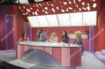 Andrea Mclean, Coleen Nolan, Clarissa Dickson Wright, Zoe Tyler and Sherrie Hewson