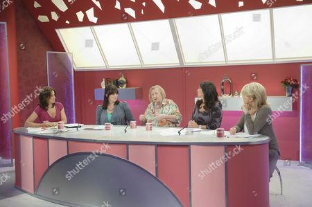 Andrea Mclean Coleen Nolan, Clarissa Dickson Wright, Zoe Tyler and Sherrie Hewson