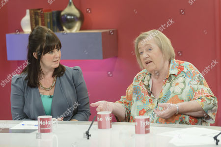 Coleen Nolan and Clarissa Dickson Wright