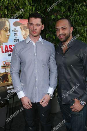 Director Vlad Yudin and Edwin Mejia