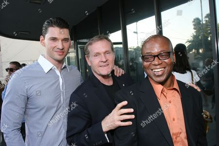 Stock Image of Director Vlad Yudin, William Sadler and Larry Strong