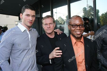 Stock Picture of Director Vlad Yudin, William Sadler and Larry Strong