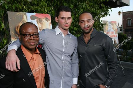 Larry Strong, Director Vlad Yudin and Edwin Mejia