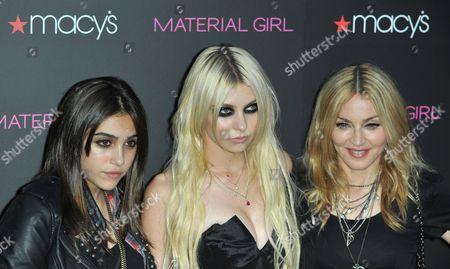 Lourdes Maria Ciccone Leon, Taylor Momsen and Madonna