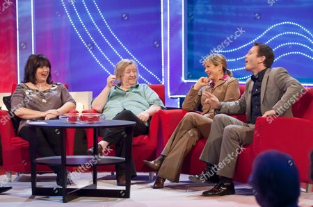 Stock Photo of Coleen Nolan, Clarissa Dickson Wright, Penny Smith and Nick Moran